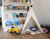 Play Teepee Tent - Plain cotton indoor play teepee tent
