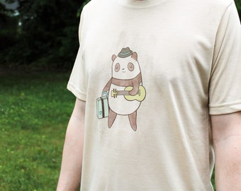 On sale - Guitar Panda T Shirt