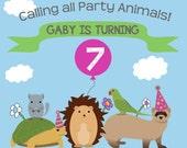 Party Animal Invitation