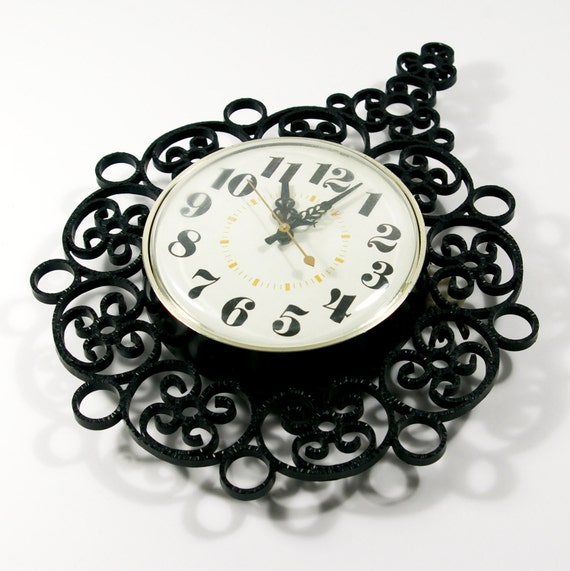 Vintage Electric Wall Clock 80