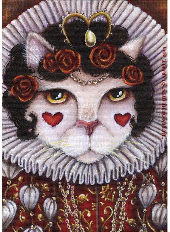 Queen of Hearts 8x10 Fine Art Print