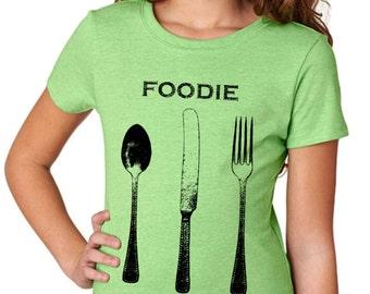 girls shirts - girls tshirts - kids shirts - baking shirt - girls clothing - childrens clothing - kids fashion - baking gifts-FOODIE-t shirt