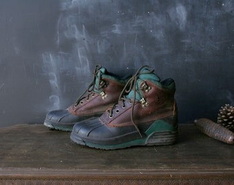 Duck Boots by Eddie Bauer From Nowvintage on Etsy