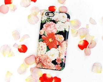 iPhone 6S Plus Case Floral Bunch iPhone 5S Case, Flowers iPhone 6S Case, Floral iPhone 6 Plus Case,  Case