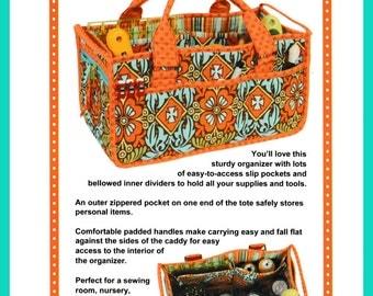 Catch All Caddy Pattern byAnnie - Free Domestic Shipping