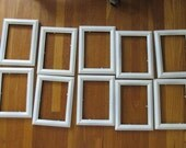 Picture Frames Set of 10 with Glass and Backing 5 x 7