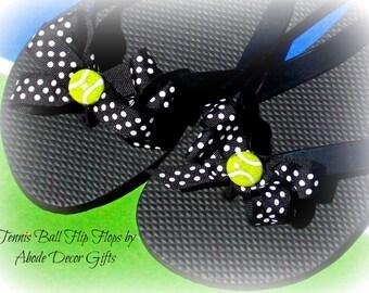 Tennis, flip flops, tennis Gifts, Tennis Gifts for Women, Tennis Team Gifts, Tennis Flip Flops, Unique Tennis Gifts, Team Captains Gifts