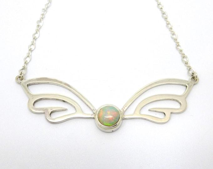Opal Wings Necklace