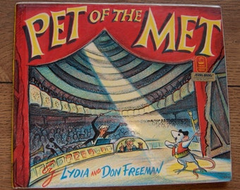 vintage 50s/70s Pet of the Met children mouse cat opera Lydia and Don Freeman