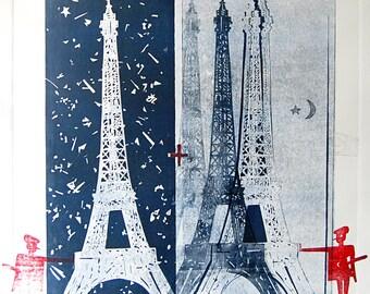 Digital Fine Art Print : WhatNow,Gustave?