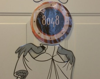 Minnie Mouse Bride Princess Body Part Stateroom Door Magnets for Disney Cruise
