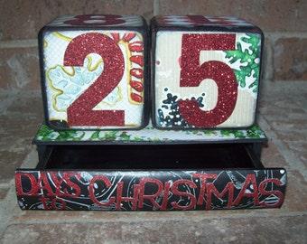Christmas Countdown Calendar/Memory Box