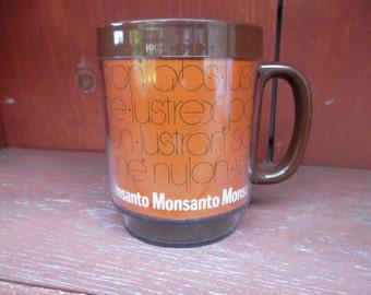 Vintage Monsanto Thermo Serv Serve Advertising  Mug