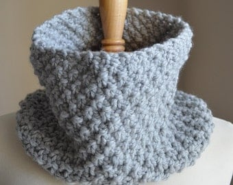 Chunky Knit Scarf, Chunky Knit Cowl Scarf, Chunky Scarf, Chunky Cowl Scarf, Knit Infinity Scarf, Infinity Scarf Knit, Chunky Infinity Scarf