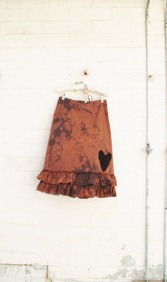 Upcycled Ruffle Skirt from Lucysroom