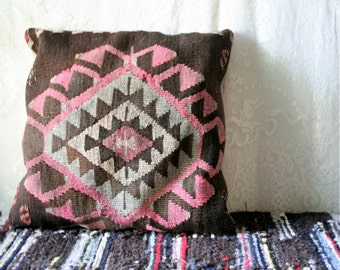 Vintage Kilim Pillow Antique