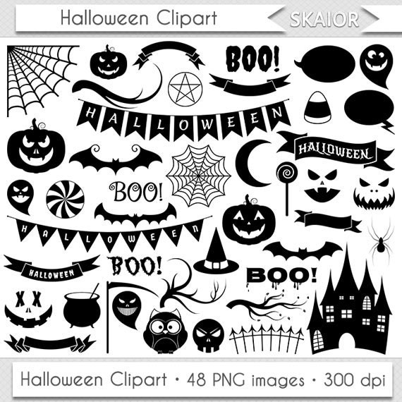 halloween clipart invitations - photo #15