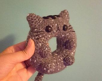 Donut Cat Amigurumi Pattern - Kawaii Cat Lady - PDF - Instant Download