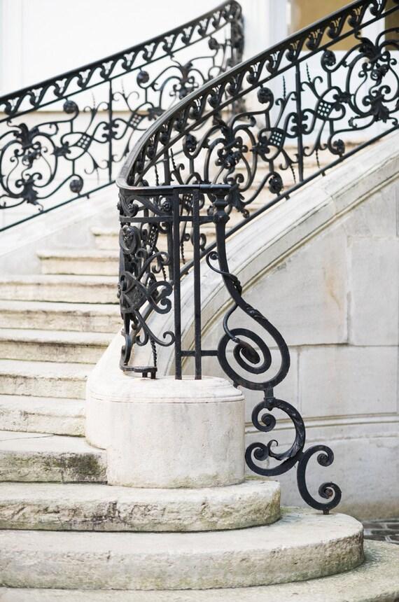 Paris photographie filigrane escalier décor par GeorgiannaLane