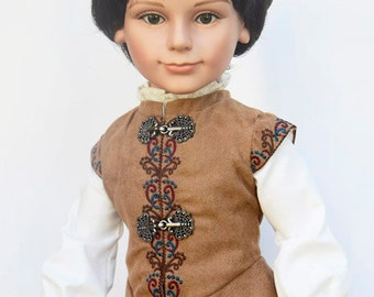 Prince Stephan 18 inch Boy Doll made by Carpatina, Winner of Dolls Award of Excellence