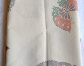 Vintage Pillowcase - Earth Tone Butterflies - Standard Size