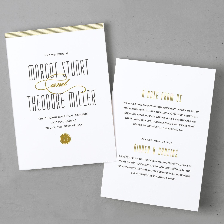 Printable wedding program template instant download for Avery wedding program templates