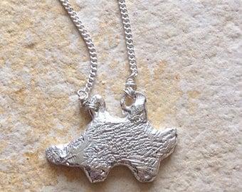 925 Sterling  Silver Hedgehog Necklace