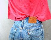 Vintage 80s Levis Acid Washed Denim Jeans