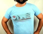 Vintage Hawaii 1980s Tee Shirt Tshirt