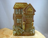 Vintage Counterpoint San Francisco Japan Victorian Pottery House Wall Pocket