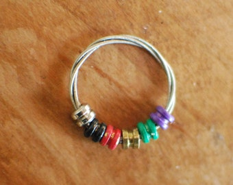 Custom Guitar String Fidget Ring, Design Your Own, Choose Your Style, Guitar String Ring, Fidget Ring, Guitar String Jewelry, Spinning Ring