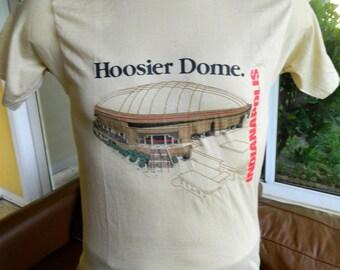 Indiana Hoosier Dome 1984 vintage t-shirt size medium