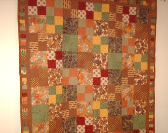 autumn leaves twin 62 x 68