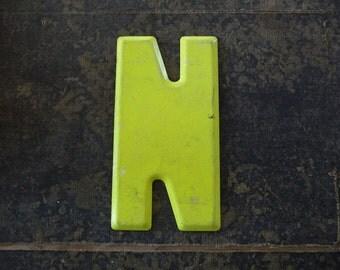 Vintage Letter N Steel Marquee Sign Metal Letter Signage -2-