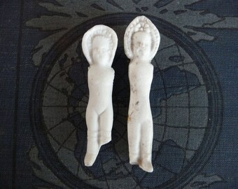 German Frozen Charlotte Dolls Antique Bisque Doll Parts