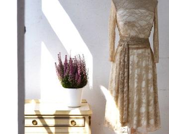 Bohemian short wedding dress, boho lace wedding dress, bohemian lace wedding dress, boho long sleeve lace dress, long sleeve wedding dress