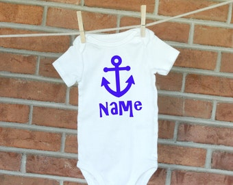 Personalized Anchor Baby/Infant Bodysuit