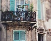 """New Orleans Photography Art, French Quarter Photograph """"Close Your Eyes and Dream"""" Spring, Architecture, Travel. Affordable Wall Art  Print."""