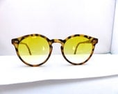 CARRERA SUNGLASSES Sunjet vintage amazing style 1980s /new yellow lenses