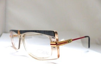 Rare 1st series CAZAL 1980S Eyeglasses // 80s Vintage Designer Frames // Western Germany  // Model 192