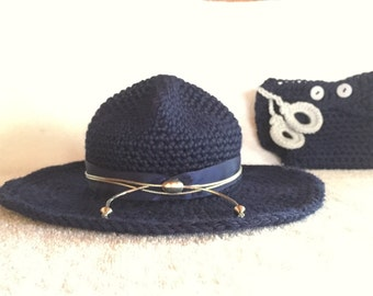 Baby Photo Prop - State Trooper Baby Outfit - State Trooper - Law Enforcement Outfit - Police Officer Baby Clothes - Sheriff Outfit