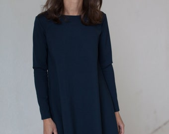 Buttoned dress | Perfect fit dress | Charming dress | LeMuse buttoned dress
