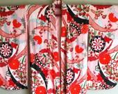 SALE 1970s KIMONO FURISODE Boho Jacket Small