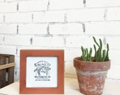 5x5 Square Picture Frame in 1x1 Flat Style and in Finish COLOR of YOUR CHOICE - Modern Small Copper Frame 5x5 inch - Gallery Wall