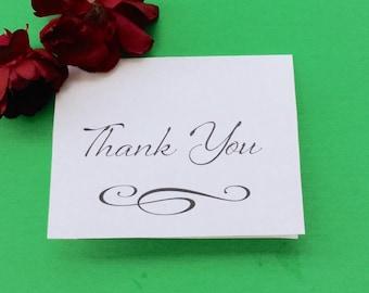 Wedding Thank You Cards Printable Cards PDF Thank you Notes Thankyou