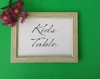 Printable Sign, Party Sign, Kids Table