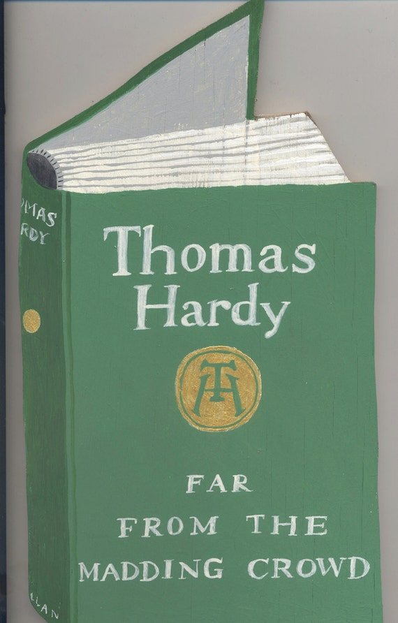 Original artwork on wood: Thomas Hardy's Far From the Madding Crowd