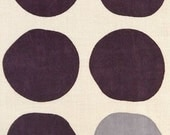 Japanese Tenugui Towel Cotton Fabric, Big Ball Design, Round, Circle, Modern Art Fabric, Hand Dyed Fabric, Wrapping, Home Decor, h096