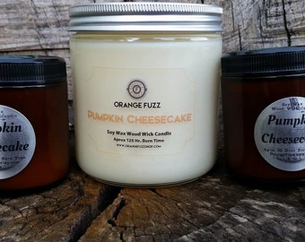 Pumpkin Cheesecake Soy Candle