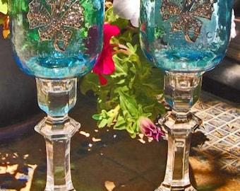 Mason Jar Crystal Solar Lights- FREE S/H